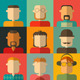 People Flat Icons - GraphicRiver Item for Sale