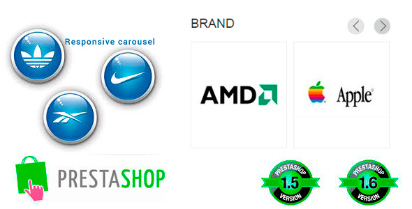 Responsive Brand Logo's Carousel for Prestashop - CodeCanyon Item for Sale