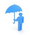 Person with umbrella - PhotoDune Item for Sale