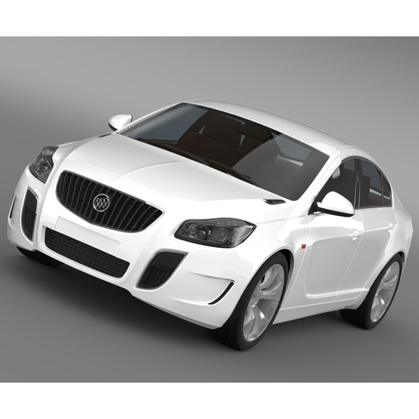3DOcean Buick Regal GS Concept 2010 9170500