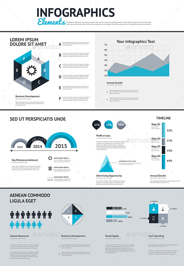 GraphicRiver Big Set of Infographic Elements 9170519