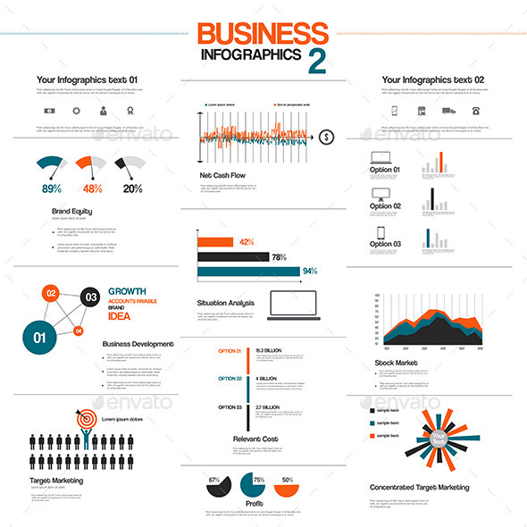 GraphicRiver Big Set of Infographic Elements 9170590