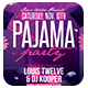 Pajama Party Flyer + Instagram Promo - GraphicRiver Item for Sale