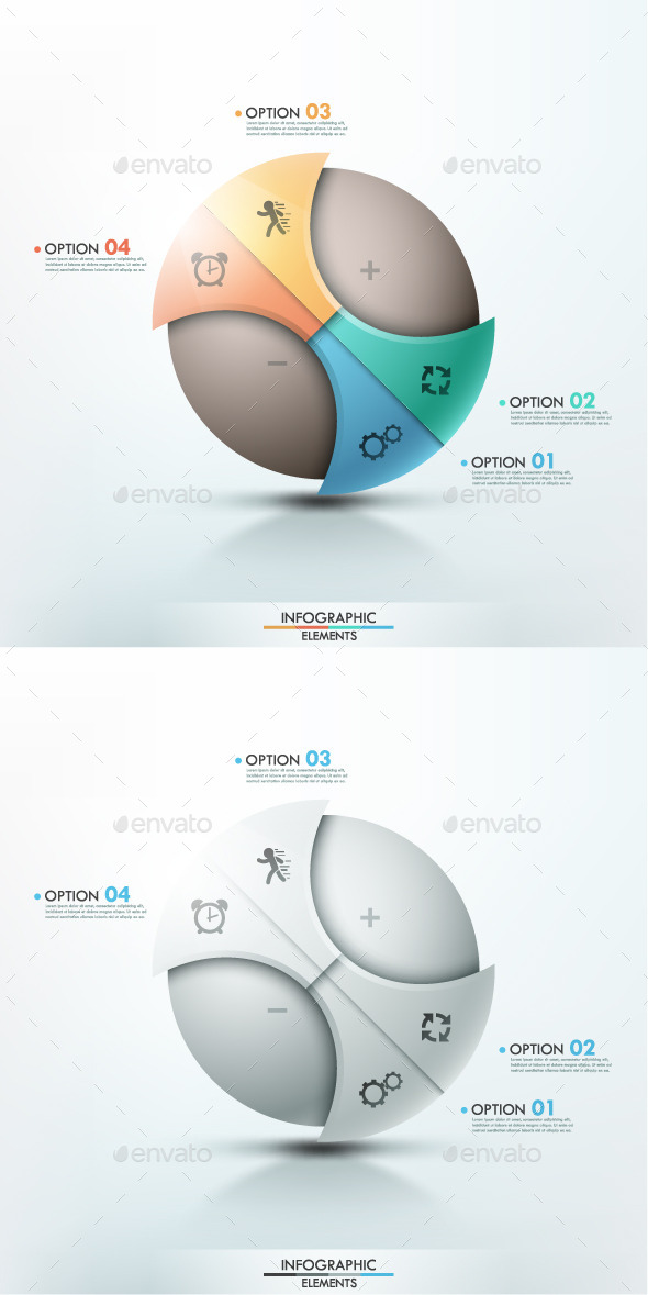 GraphicRiver Modern Infographic Options Banner 2 Items 9170702