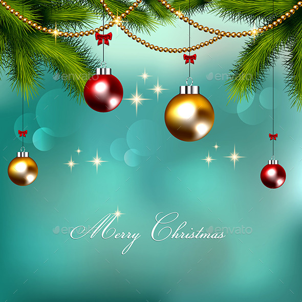 GraphicRiver Christmas Background 9170714