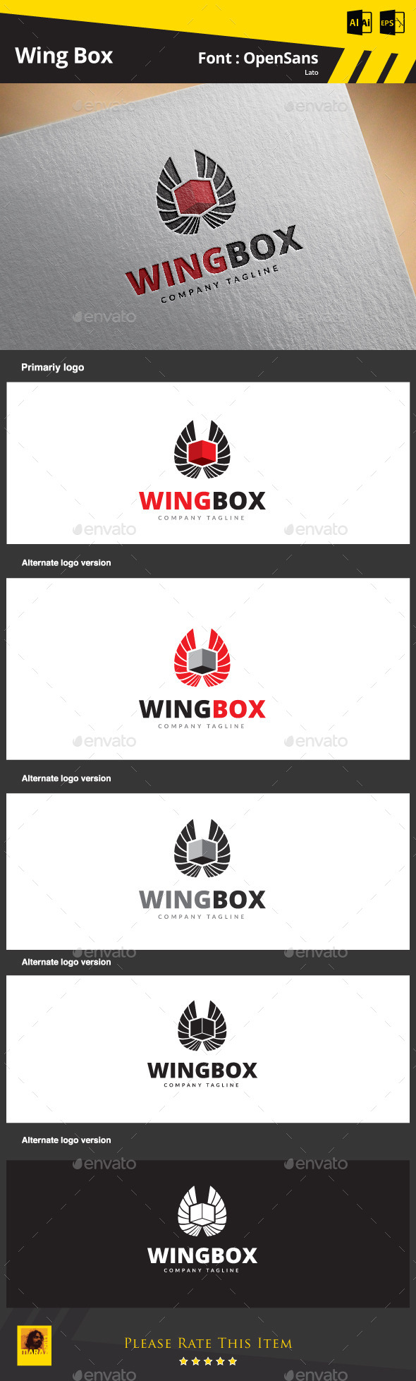 GraphicRiver Wing Box 9170942