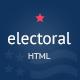 Link toElectoral - political non-profit html template