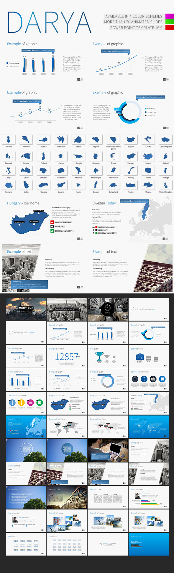 GraphicRiver Darya PowerPoint Template 9170975