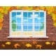 Autumn Wall and Summer Window - GraphicRiver Item for Sale