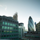 London England Financial Center Business Skyline At Night - VideoHive Item for Sale