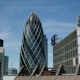 Gherkin Building London England Financial Center Business - VideoHive Item for Sale