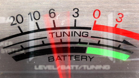 VideoHive Power And Battery Levels Vintage Ghettoblaster 9171788