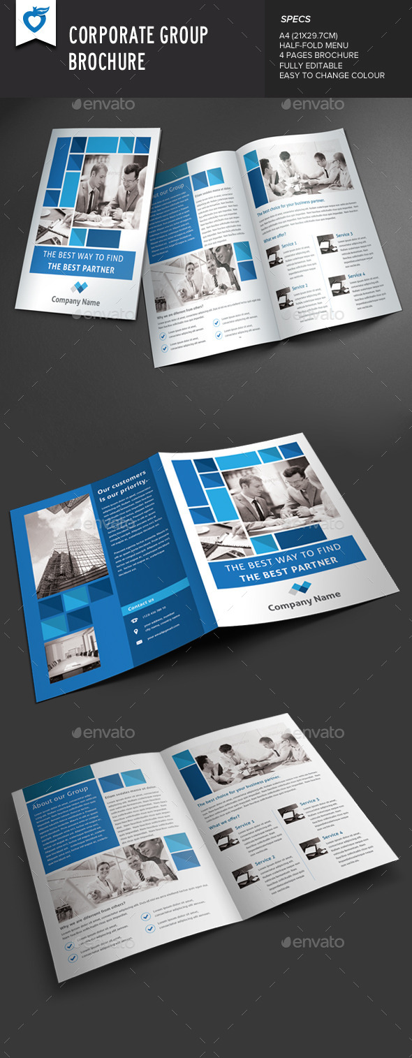 GraphicRiver Corporate Group Brochure 9172545