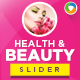 Health & Beauty Slider - GraphicRiver Item for Sale