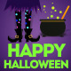 Happy Halloween Party Ident - VideoHive Item for Sale