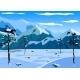 Winter Mountain Landscape - GraphicRiver Item for Sale