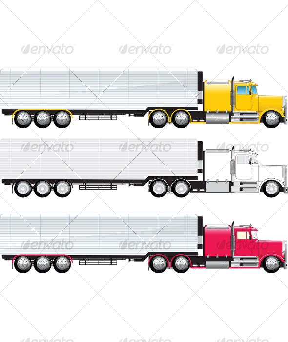 GraphicRiver Big truck 118257