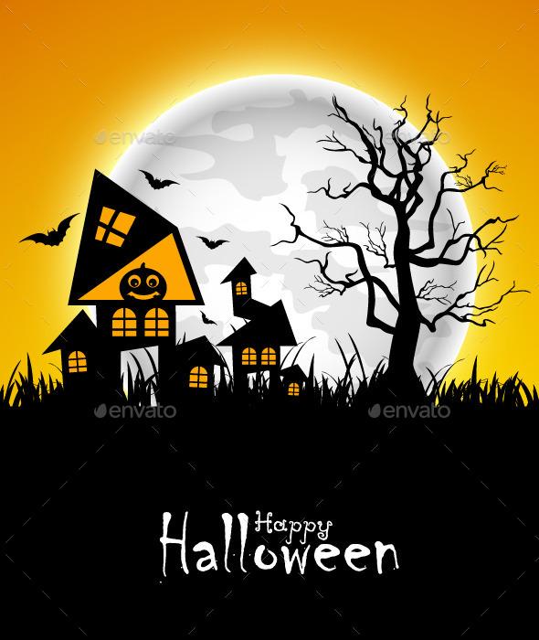 GraphicRiver Halloween Design 9154154