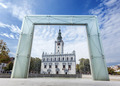 Main city square in Chelmno with fountain, Poland. - PhotoDune Item for Sale