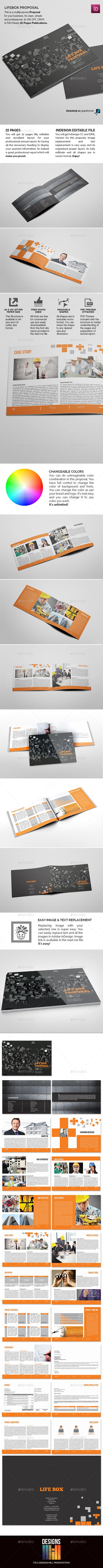 GraphicRiver Lifebox Landscape Proposal 9174909