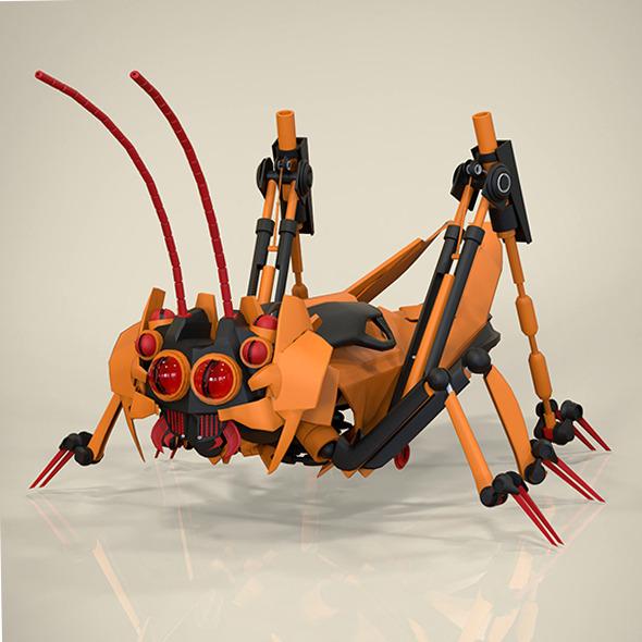 3DOcean Robotic Grasshopper 9174918