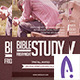 Bible Study Church Flyer - GraphicRiver Item for Sale
