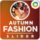 Autumn Sale Slider - GraphicRiver Item for Sale