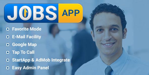 CodeCanyon Jobs App 9127749