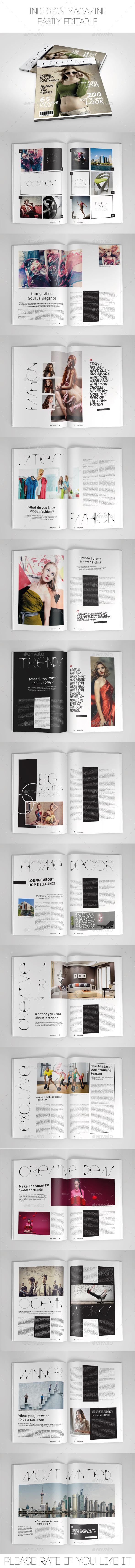 GraphicRiver Multipurpose Magazine Template 9175199