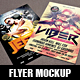 Realistic Flyer Mockup - GraphicRiver Item for Sale
