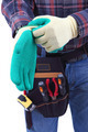 Construction worker is wearing to gloves - PhotoDune Item for Sale