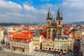 Old Town square in Prague, Czech Republic - PhotoDune Item for Sale