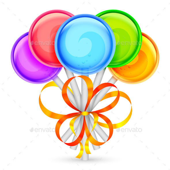 GraphicRiver Color Lollipops 9175918