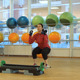 Young Woman Doing Exercise  - VideoHive Item for Sale