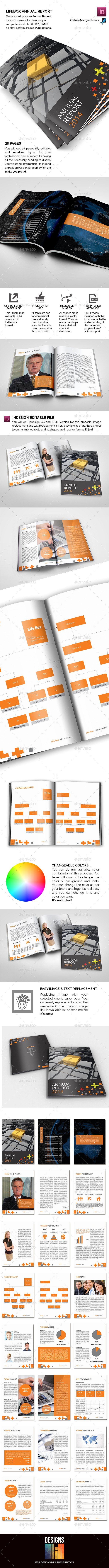 GraphicRiver Lifebox Annual Report 9175942