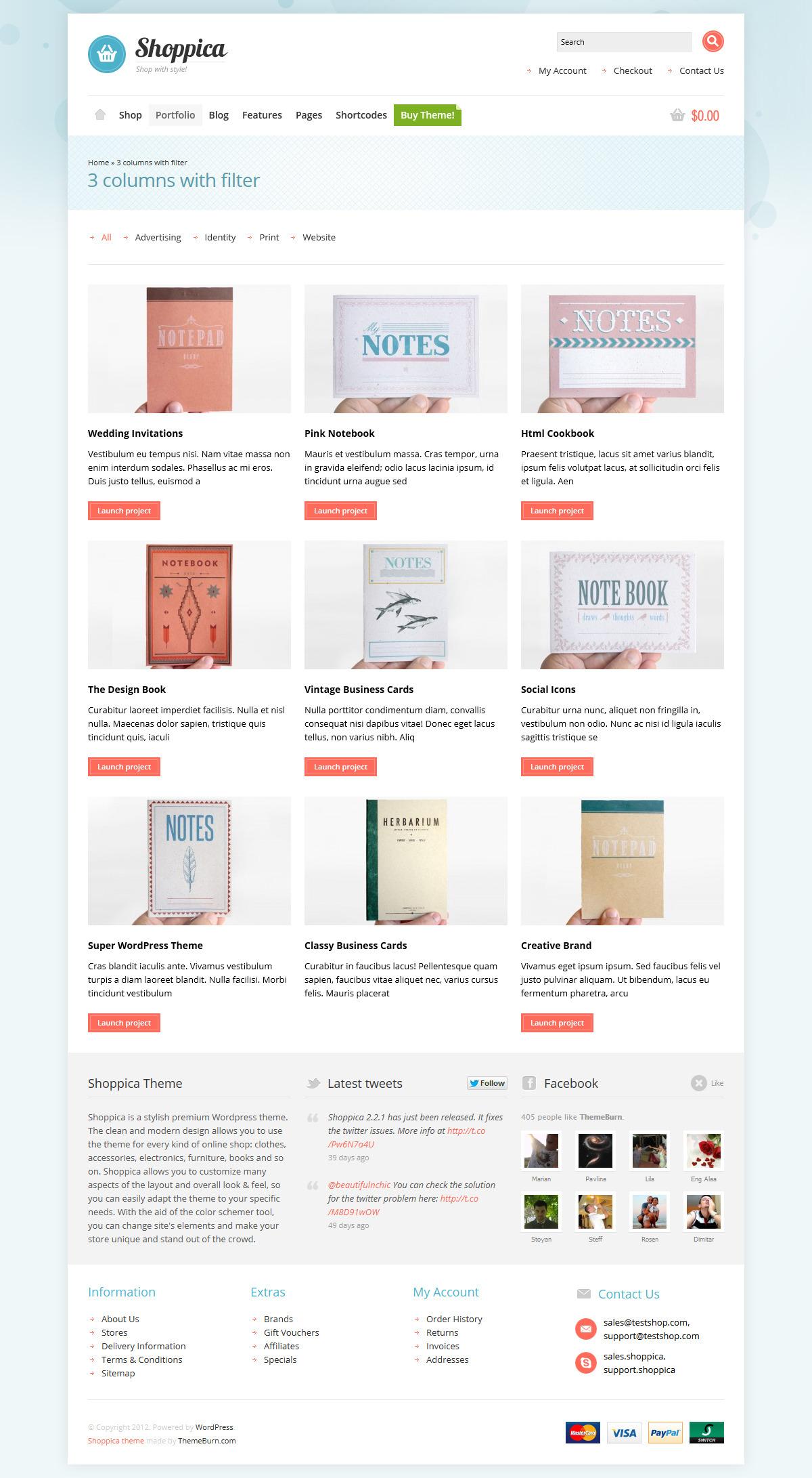 Shoppica - Responsive E-commerce WordPress Theme