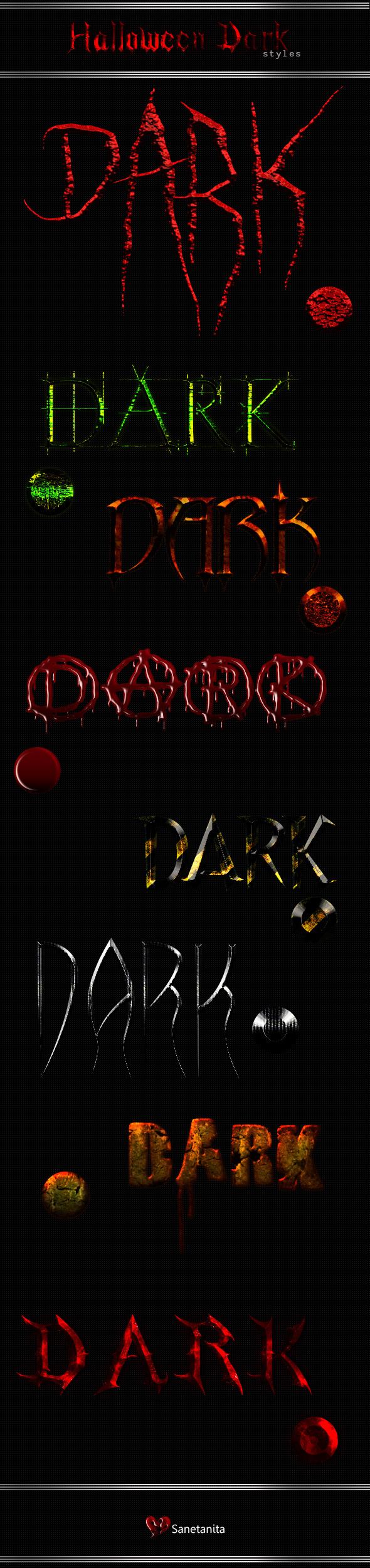 GraphicRiver Halloween Dark Styles 9176225