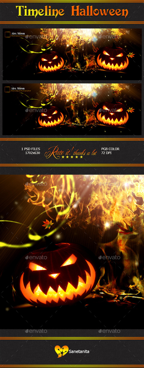 GraphicRiver Halloween Timeline 9176261