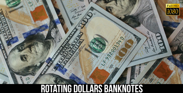 Rotating Dollars Banknotes 3