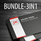 Business Card Bundle 01 - GraphicRiver Item for Sale