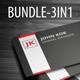 Business Card Bundle 01 - GraphicRiver Item for Sale