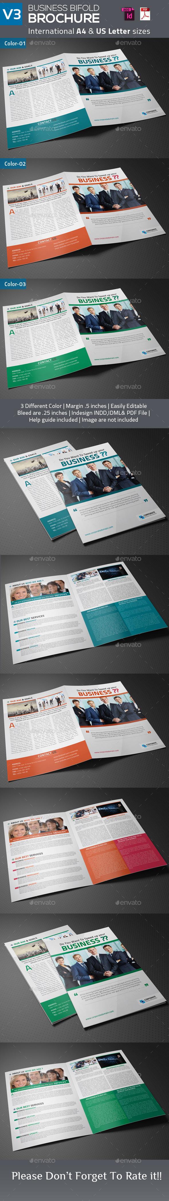 GraphicRiver Business Bifold Brochure V3 9177264