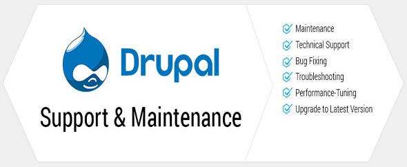 Drupal support maintenance