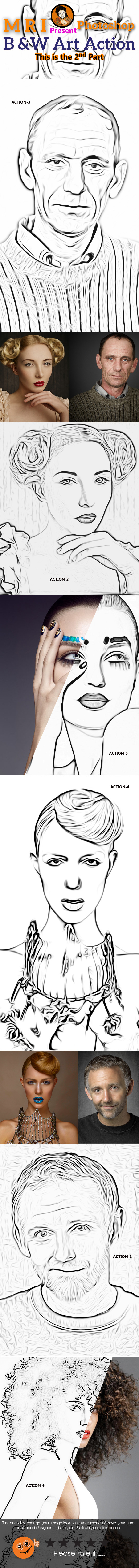 GraphicRiver Photo Outline Action 9177566