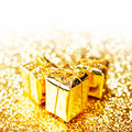 Gold gift boxes - PhotoDune Item for Sale
