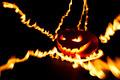 Burning halloween pumpkin - PhotoDune Item for Sale