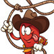 Cowboy Chili Pepper - GraphicRiver Item for Sale
