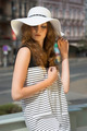 pretty woman in sunny summer day - PhotoDune Item for Sale