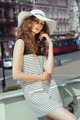 Woman in striped dress - PhotoDune Item for Sale