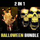 Halloween Flyers Bundle 2 in 1 - GraphicRiver Item for Sale